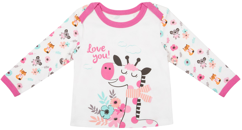 Комплект: футболка и ползунки Barkito Зверюшки футболки barkito w18g1003j 2