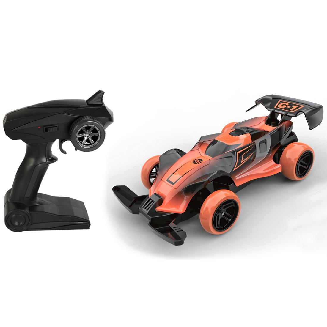 Игрушки на радиоуправлении Наша игрушка Болид машинка на радиоуправлении пламенный мотор болид пластик металл от 6 лет разноцветный