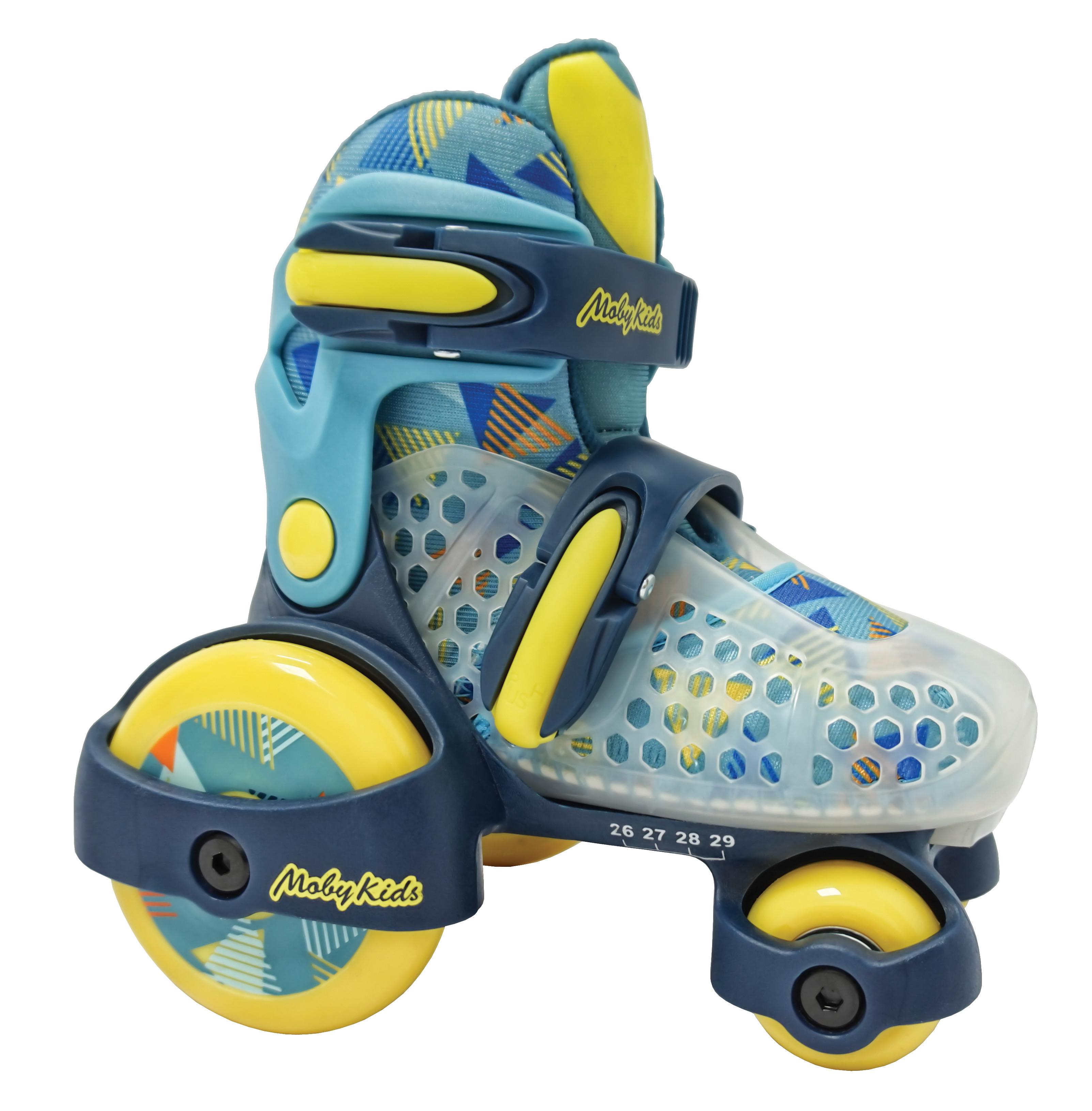 Роликовые коньки Moby Kids 641143 ролики и скейтборды moby kids коньки роликовые moby kids 26 29 раздвижные фиолетовые