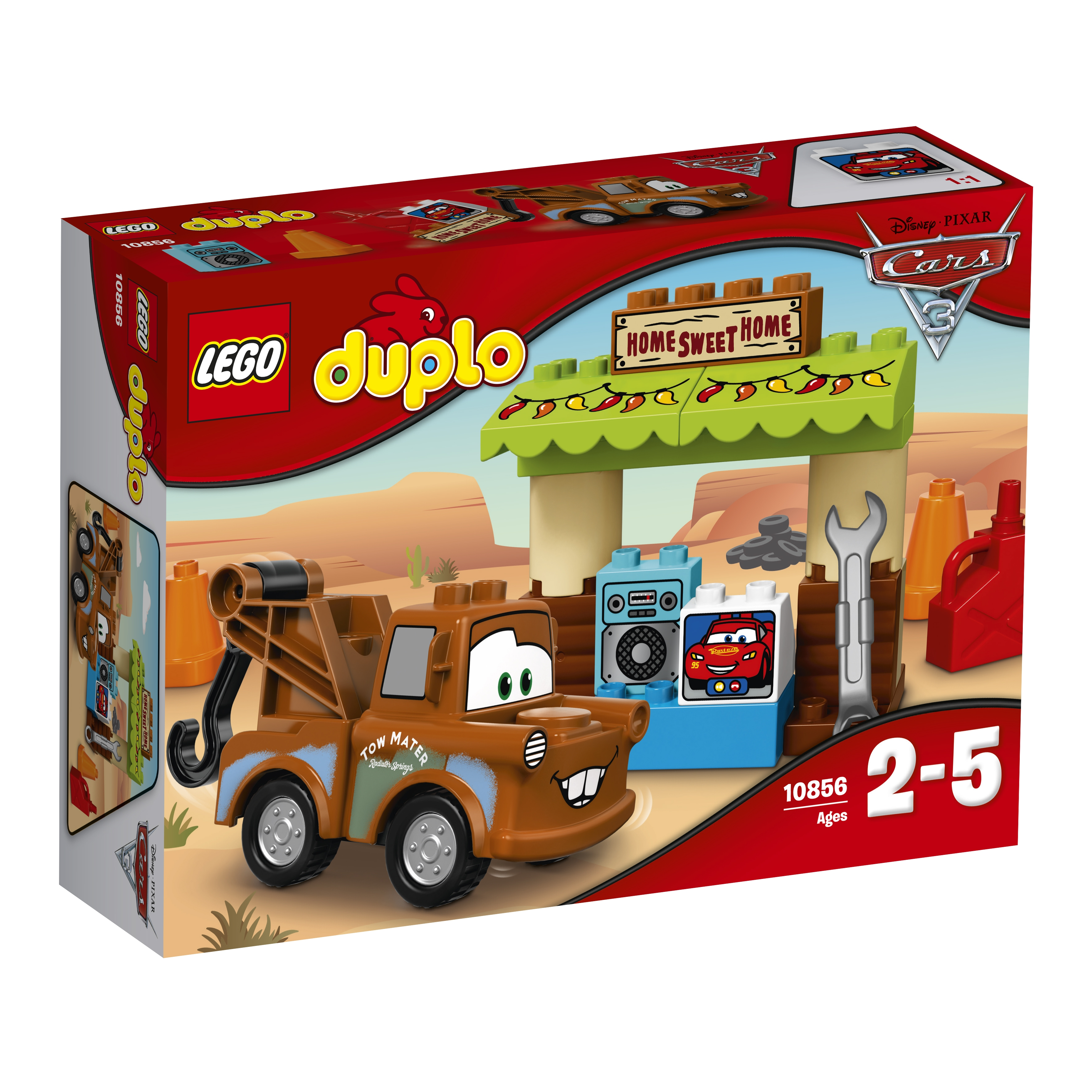 LEGO DUPLO LEGO Гараж Мэтра lego juniors 10733 лего джуниорс тачки свалка мэтра