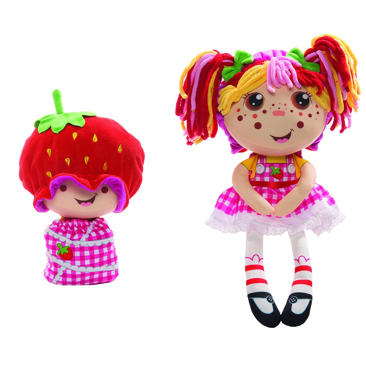 Мягкая игрушка 1toy Девчушка-вывернушка Ксюшка