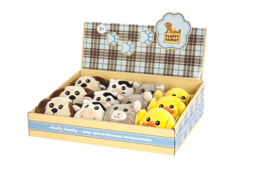 Мягкие игрушки Fluffy Family Мягкая игрушка   «Круглики домашние» в асс.