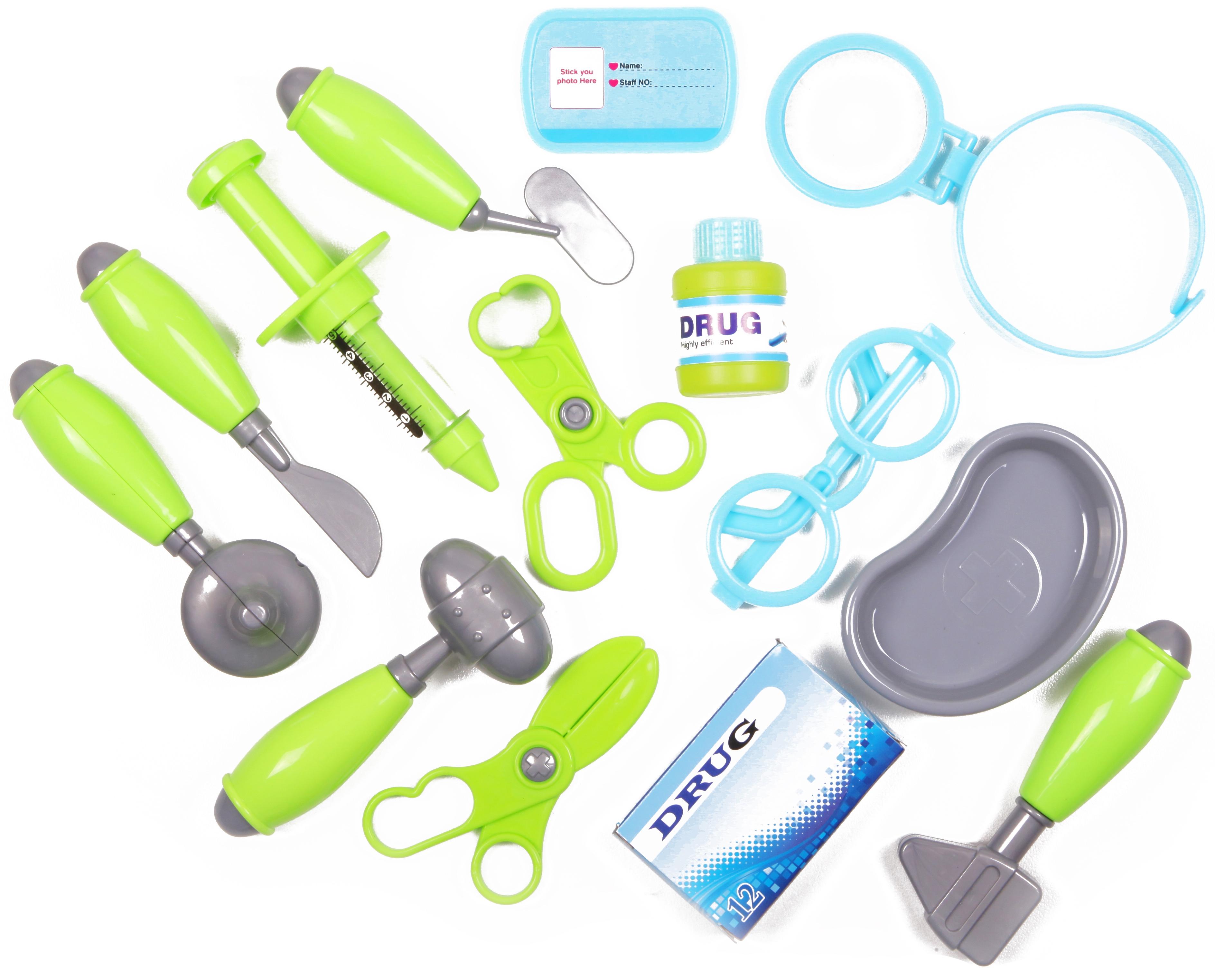 Игровые наборы Профессия YAKO Доктор 15 предметов Y12481155 ролевые игры игруша игровой набор продукты 10 предметов