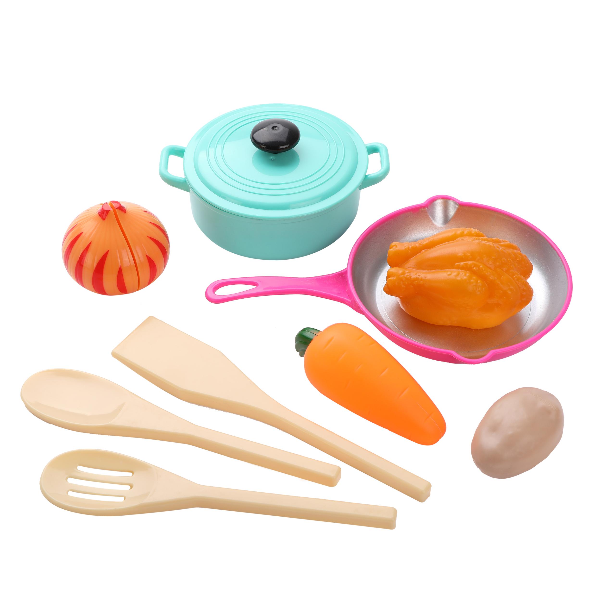 Игровой набор посуды и продуктов Mary Poppins 10 предметов посуда и наборы продуктов mary poppins набор посуды mary poppins в сумке