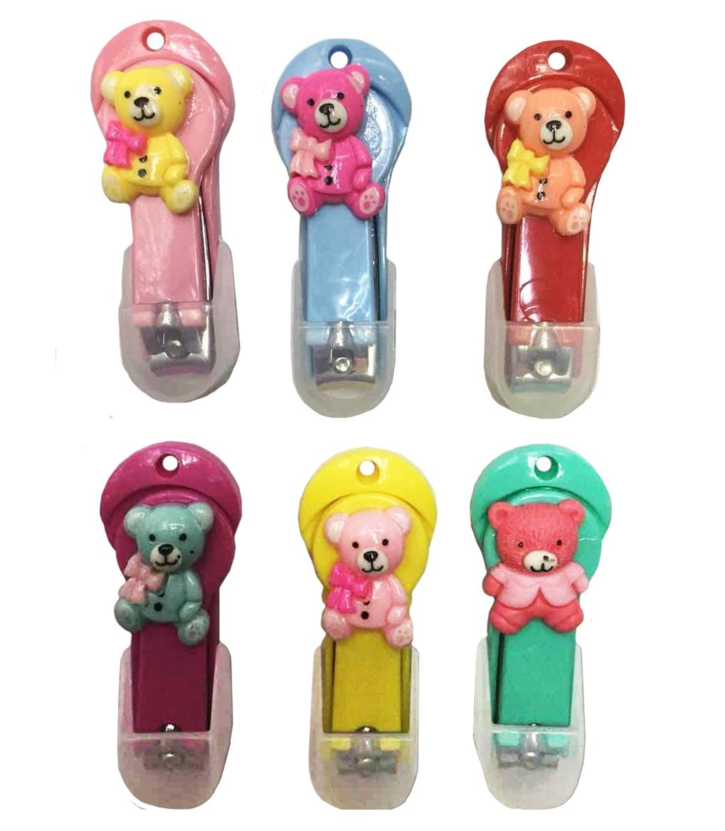 цены Щипчики для ногтей Baffy Мишка