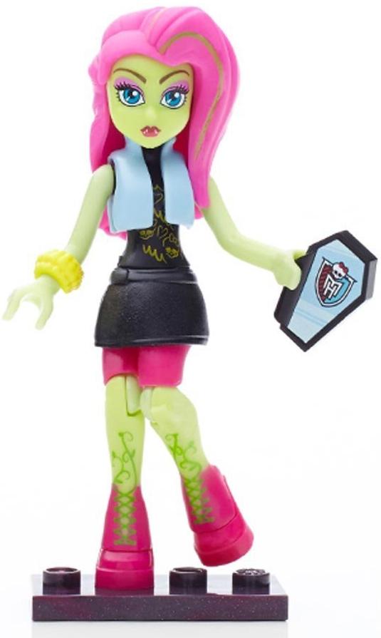 Другие куклы Mega Bloks Monster High Персонажи монстры Mattel мини фигурка mega bloks monster high 9 см