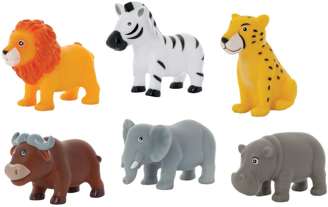 Игрушки для ванны Курносики Животные Африки набор игрушек брызгалок для ванны курносики животные африки в ассортименте