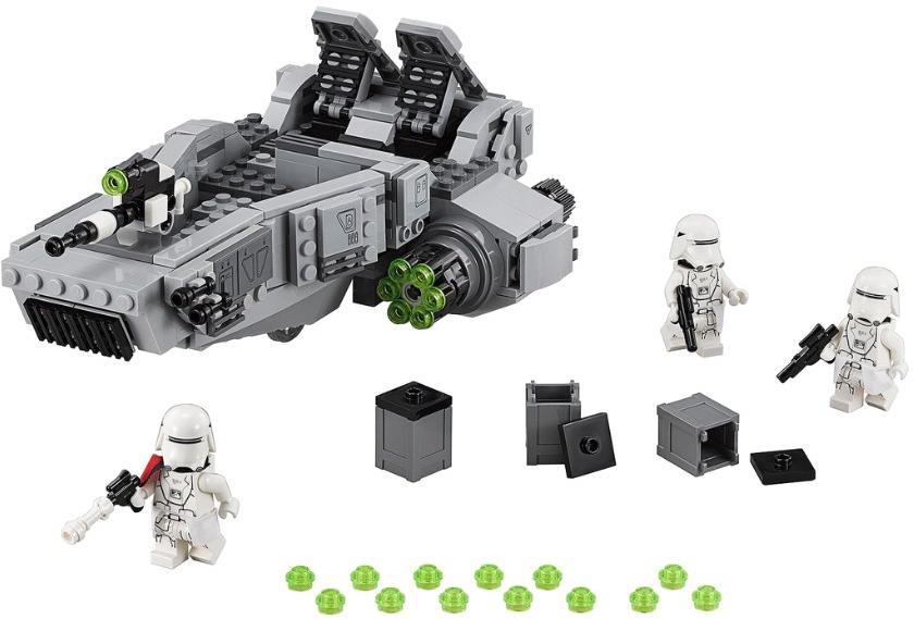 Конструктор LEGO Star Wars 75100 Снежный спидер Первого Ордена