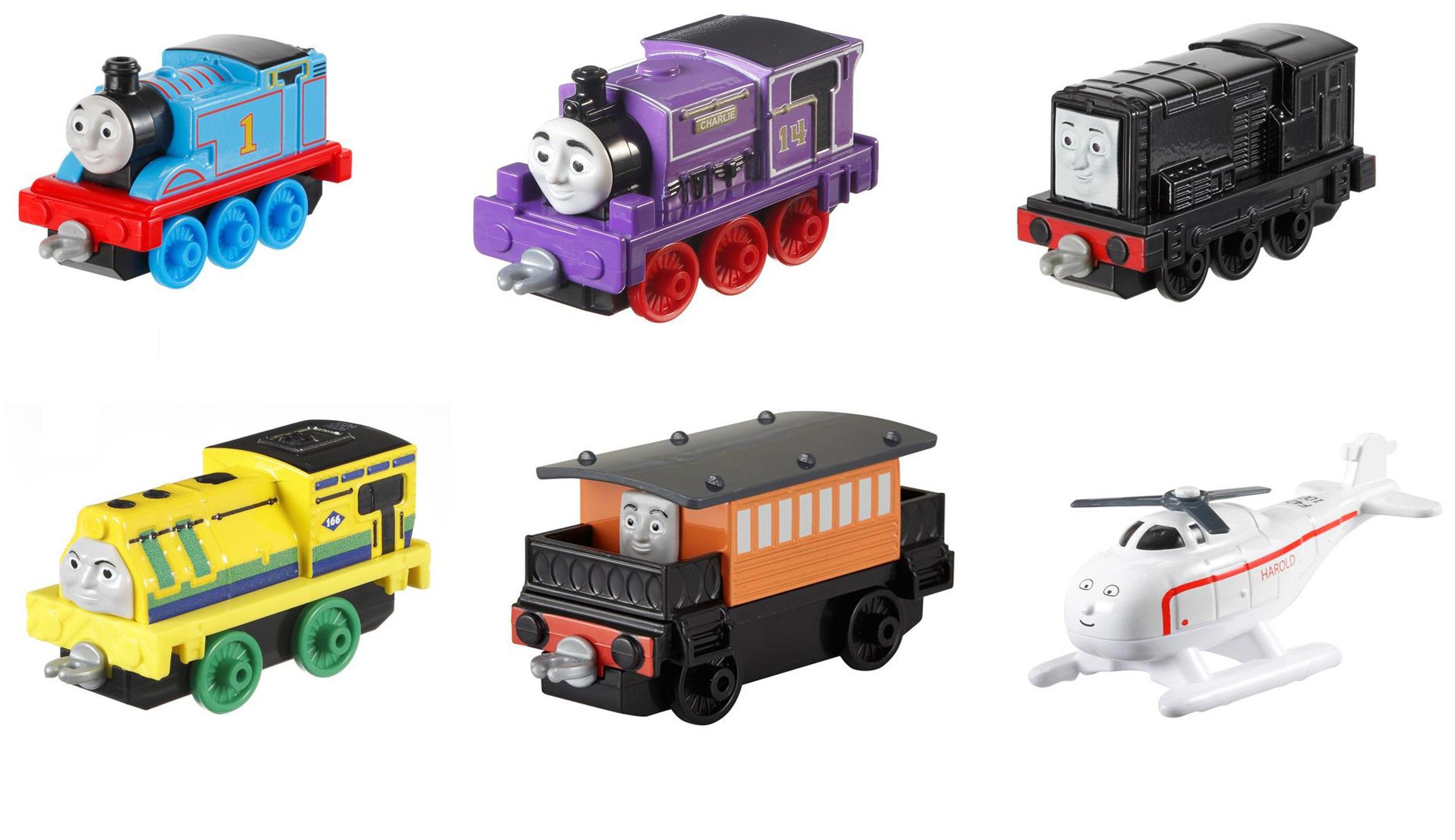 цены Наборы игрушечных железных дорог, локомотивы, вагоны Fisher Price Маленький паровозик