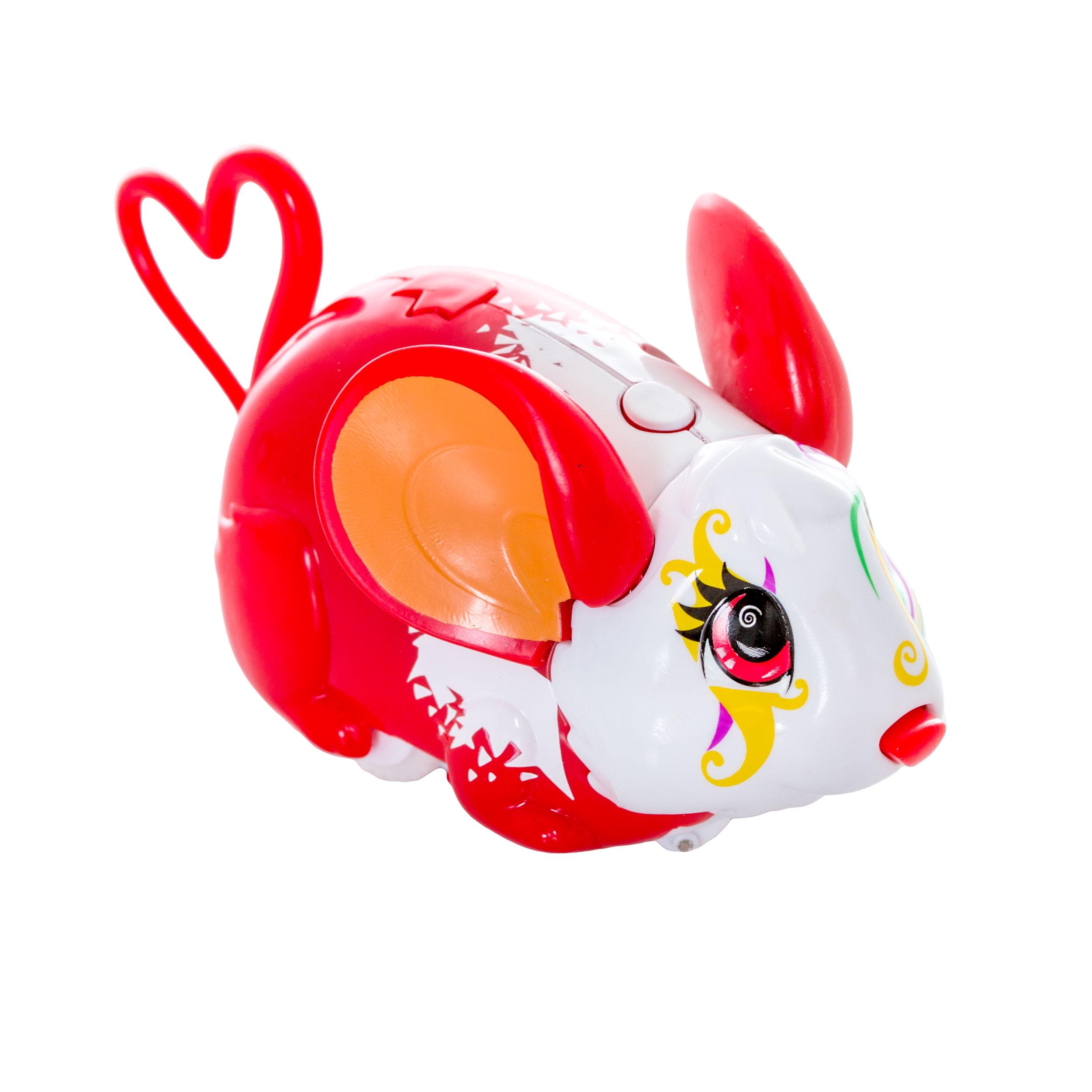 Amazing Zhus Amazing Zhus Мышка-циркач Алесса игровая фигурка cepia cepia интерактивная игрушка amazing zhus мышка циркач абра