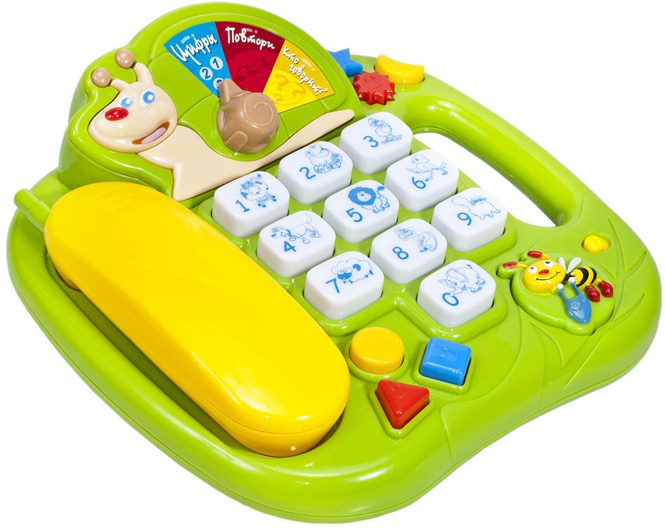 Фото - Развивающие игрушки Малыши Веселый телефон проводной и dect телефон foreign products vtech ds6671 3