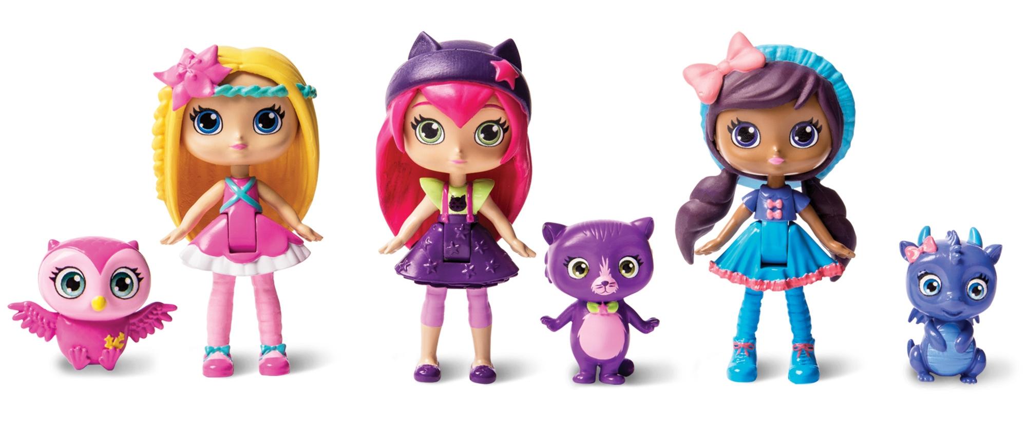 Фигурки героев мультфильмов Little Charmers 71708 игрушка little charmers кукла