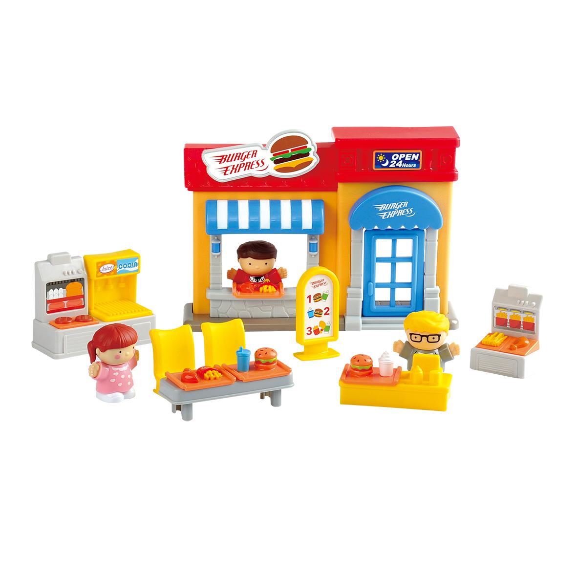 Игровой набор PLAYGO Кафе набор с пластилином playgo мульти