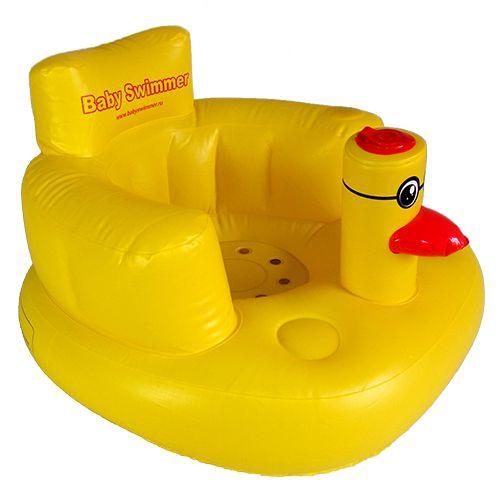 Горки и сиденья Baby Swimmer Уточка надувное кресло babyswimmer уточка