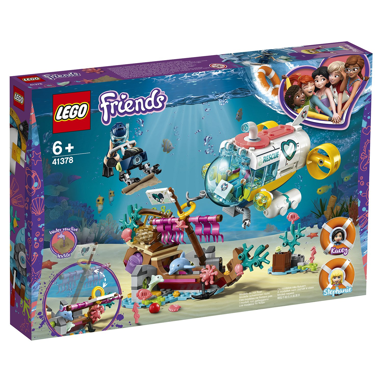 Конструктор LEGO Friends 41378 Спасение дельфинов конструктор lego friends 41338 спортивная арена для стефани