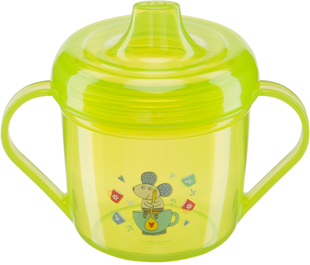 Чашки и поильники Happy baby с ручками Drink up