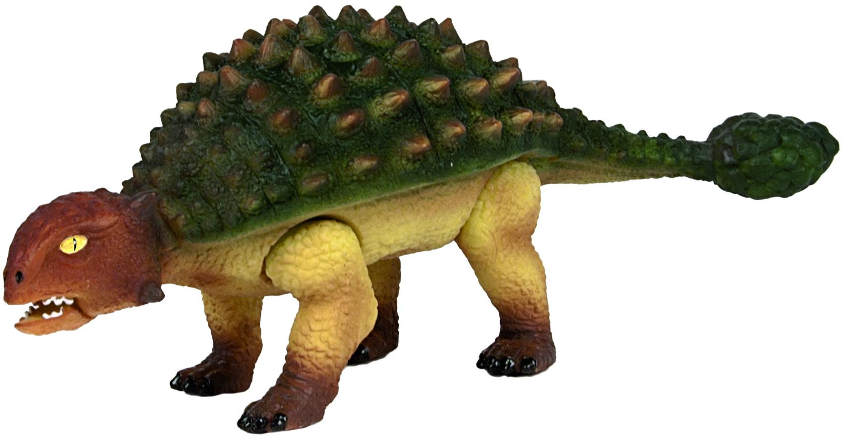 Фигурки животных Geoworld Анкилозавр good dinosaur 62006 хороший динозавр маленькая подвижная фигурка юный анкилозавр