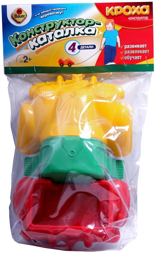 Каталка Кроха Грузовик orange мягкая игрушка orange life ежинка колючка в шапке с двумя помпонами 26 см
