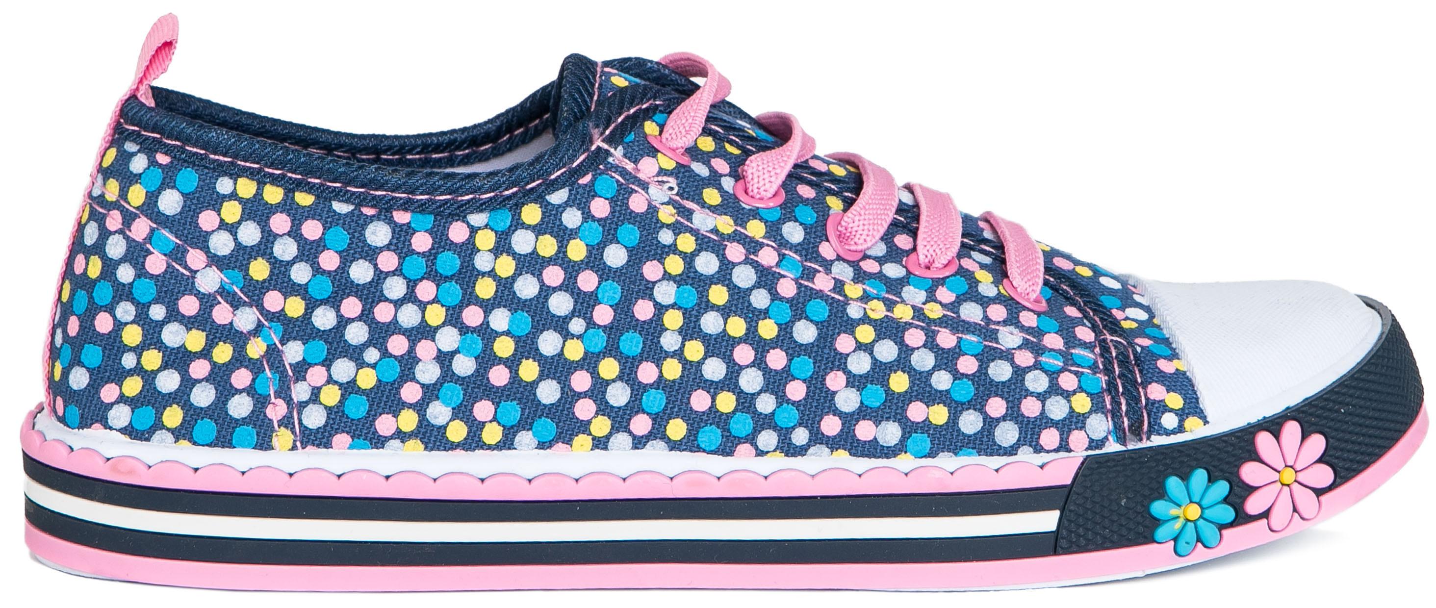 Ботинки и полуботинки Barkito Полуботинки типа кроссовых для девочки Barkito, темно-голубой полуботинки типа кроссовых для девочки barkito розовый