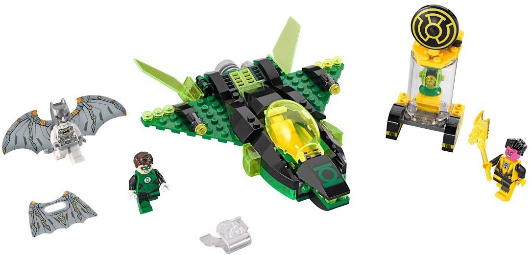LEGO LEGO Super Heroes 76025 Зеленый Фонарь против Синестро
