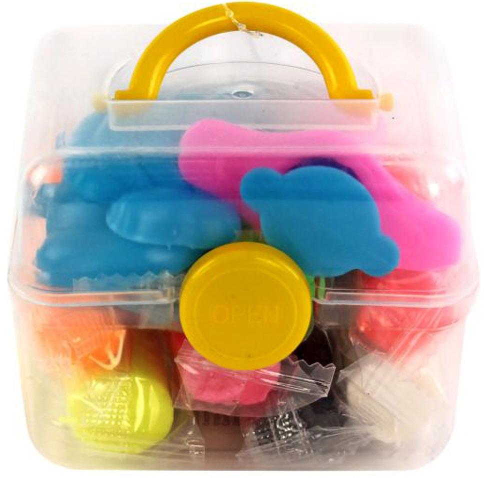 Пластилин и масса для лепки Наша игрушка 8 цветов 136 г цена и фото