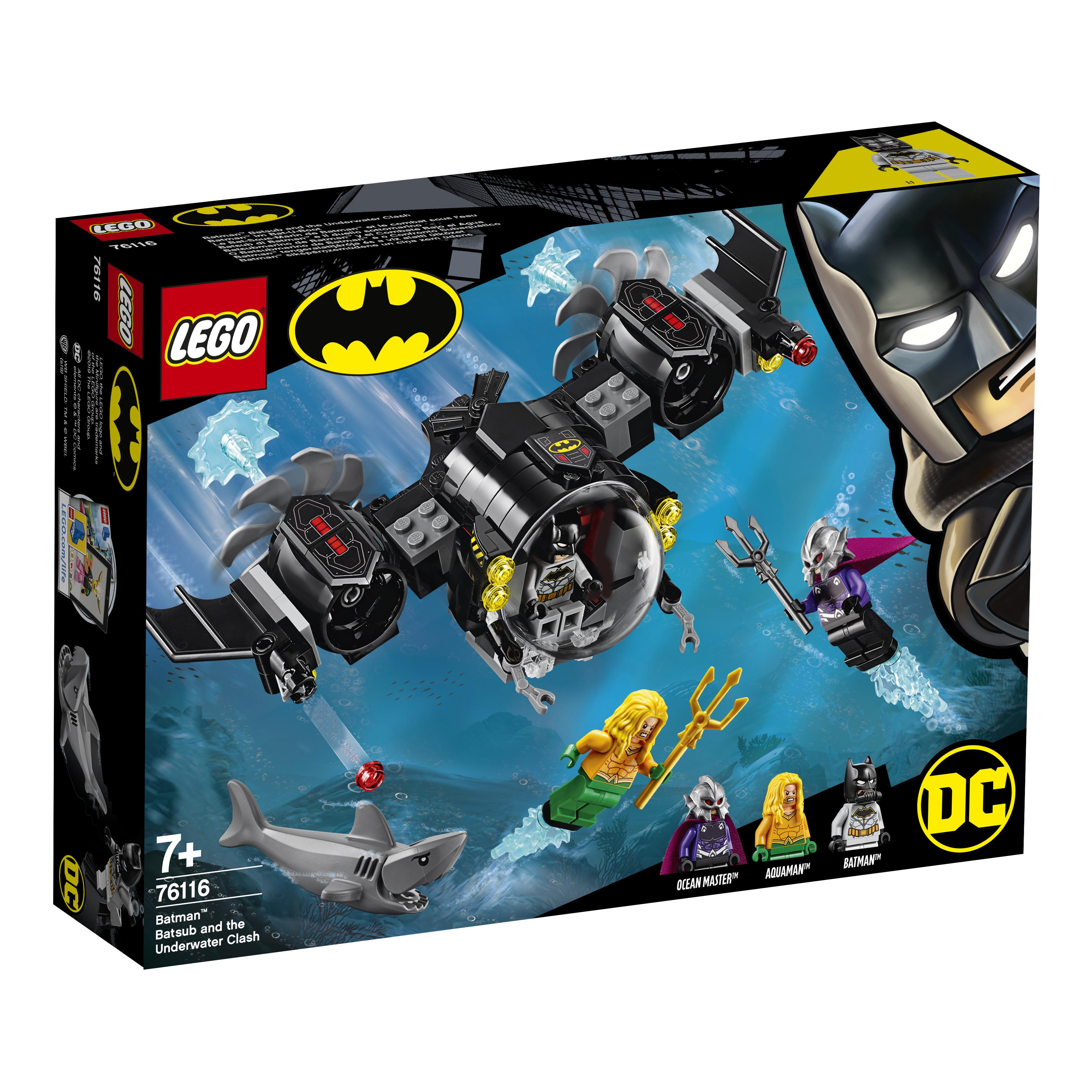 Купить LEGO, Super Heroes 76116 Подводный бой Бэтмена