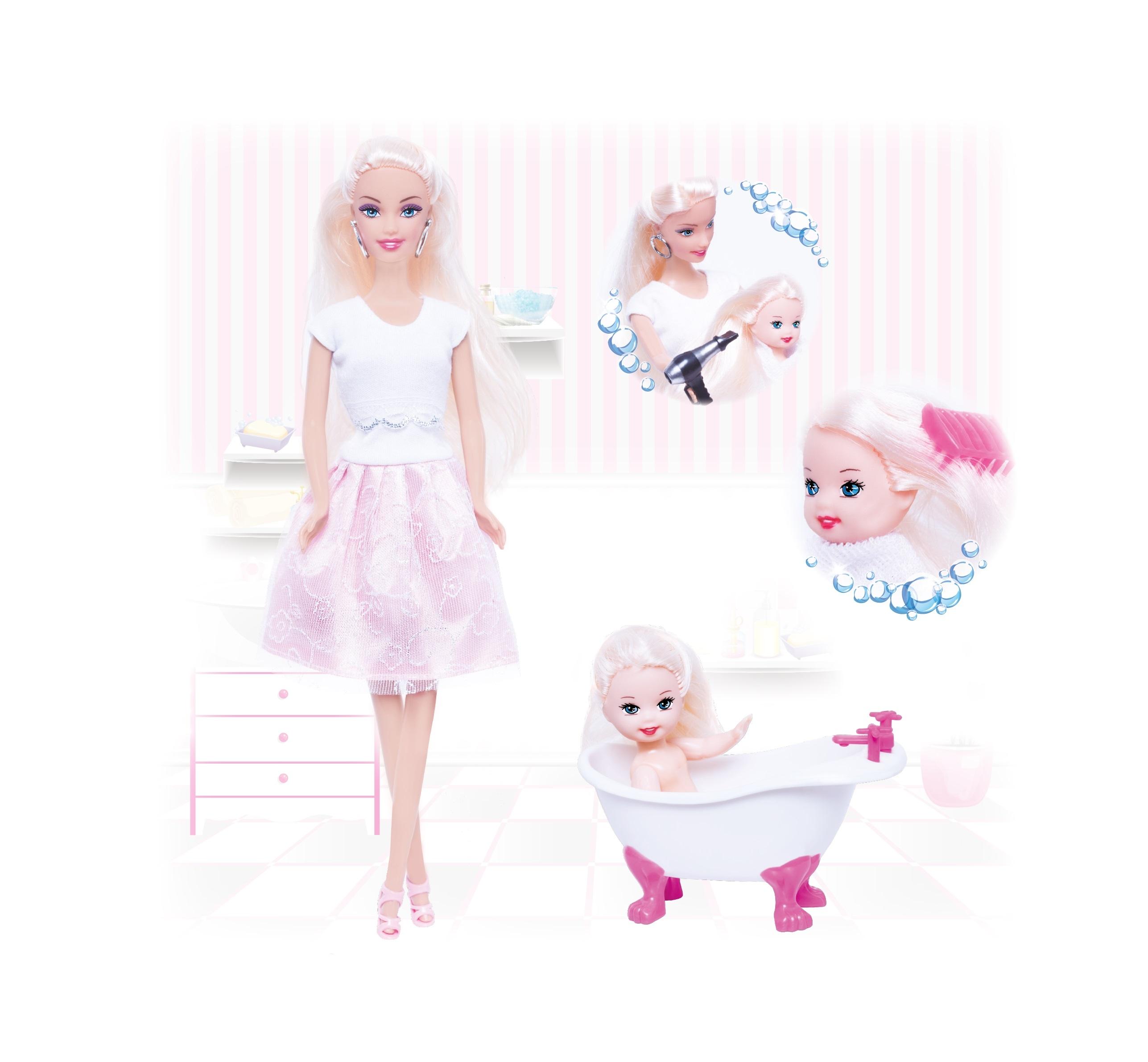 Другие куклы ToysLab Кукла Ася. Веселое купание куклы и одежда для кукол defa игровой набор кукла с аксессуарами 26 см