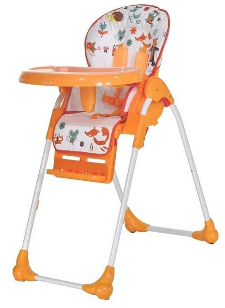 Стульчики для кормления Everflo Стульчик для кормления Everflo «Forest»Q35 Orange стульчики для кормления kidsmill