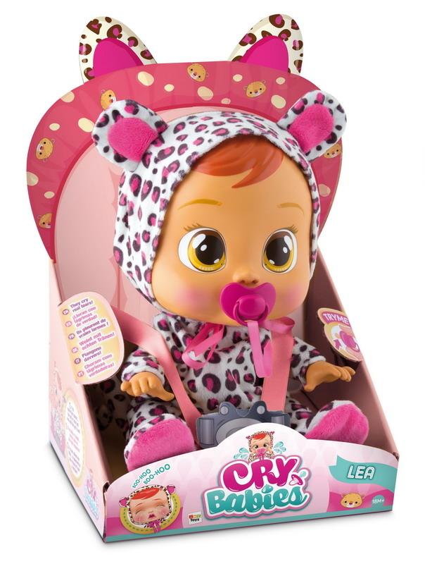 Интерактивные животные IMC toys «Cry Babies» Лея imc toys imc toys кукла интерактивная crybabies плачущий младенец дотти