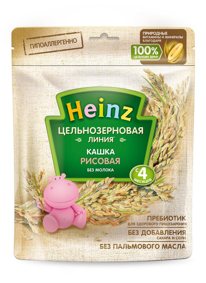 все цены на Каша Heinz рисовая с 4 мес. 180 г онлайн