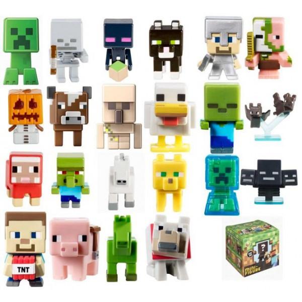 Фигурка Mattel Minecraft bandai фигурка minecraft mine charact box zombie 4 см