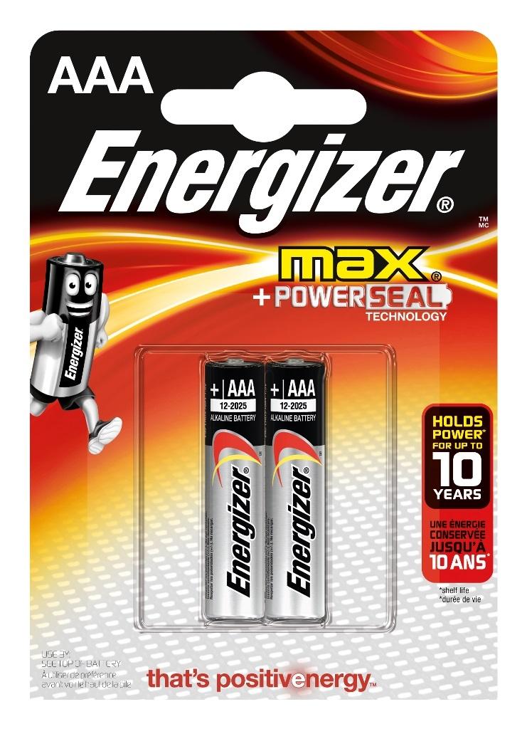 Батарейки Energizer Max E92 AAA элемент питания energizer max aaa 2 шт