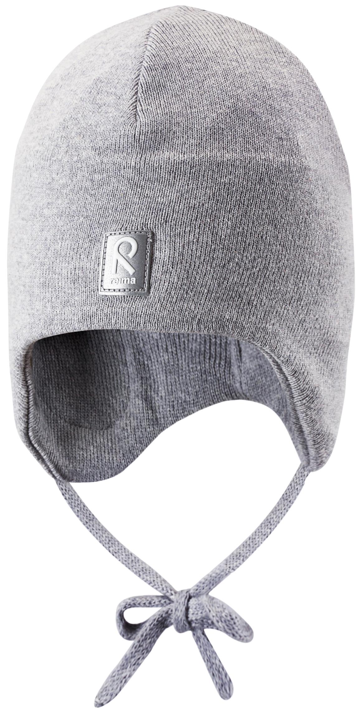 Шапка Reima Aqueous серый головные уборы reima aqueous розовый