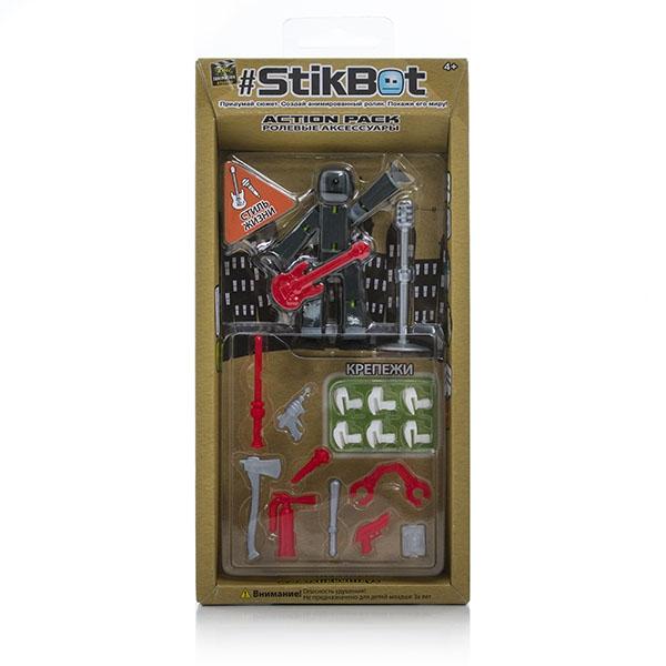 Фигурки героев мультфильмов Stikbot Stikbot TST620 гладкий а скачать бесплатно