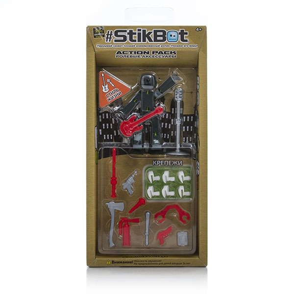 Фигурки героев мультфильмов Stikbot Stikbot TST620 stikbot tst622 стикбот фигурка питомца в ассортименте