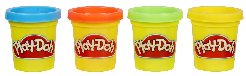 Play-Doh Play-Doh Игровой набор Play-Doh из 4 мини-баночек