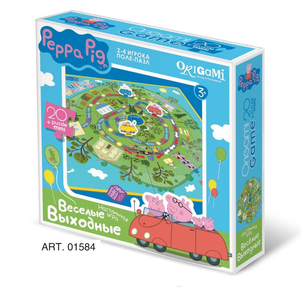 Peppa Pig Peppa Pig Веселые выходные обучающий набор origami peppa pig 4 в 1