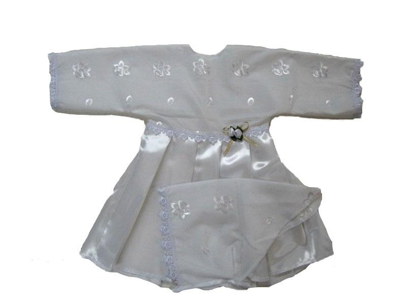 Комплект для крещения девочки Арго 031/Н комплект для крещения детский трон плюс рубашка чепчик цвет белый 1403 размер 62 3 месяца