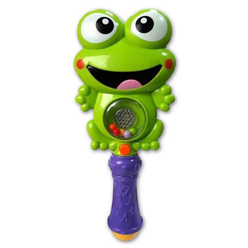 Развивающая игрушка Азбукварик Зверюшка-погремушка «Ква-ква» говорящие книжки азбукварик книжка зверюшка черепашка