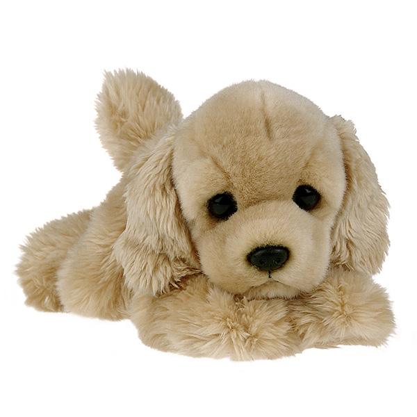 Купить Мягкие игрушки, Бордер Кокер-спаниель, Aurora, Индонезия, бежевый