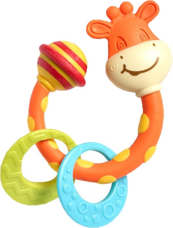 Погремушки Tiny Love Жираф Сеня погремушки simba букашка прорезыватель
