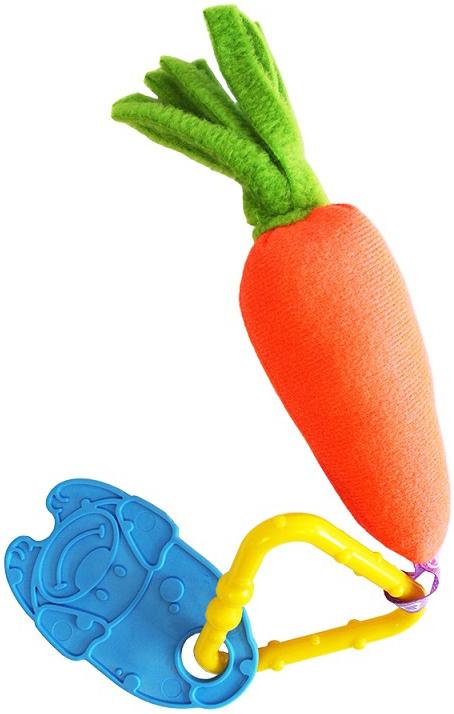 Погремушки Пластмастер Морковочка погремушки simba букашка прорезыватель