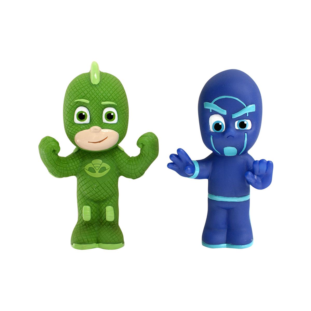 Игрушки для ванны PJ Masks Игровой набор Гекко и Ночной ниндзя игровые фигурки герои в масках pj masks игровой набор гекко и ниндзя 2 фигурки по 8 см