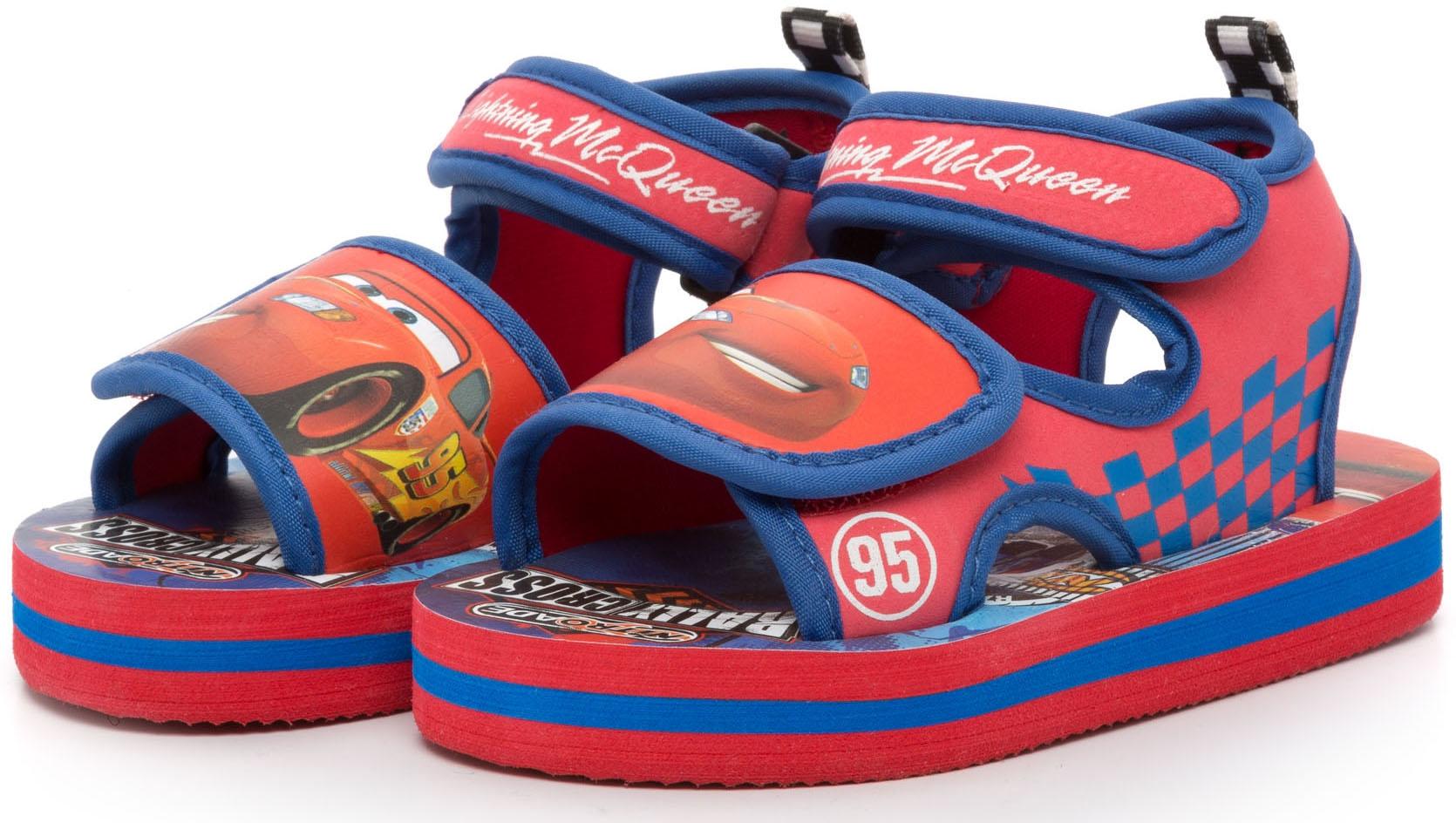 Туфли для мальчика, Летние для пляжа и бассейна красно-синие, 1шт., DISNEY CARS 2 CA001109, Китай, красно-синий, Мужской  - купить со скидкой