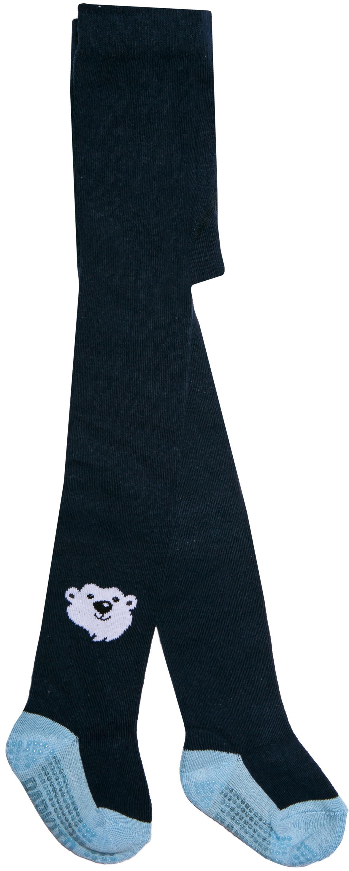 Купить Колготки антискользящие для мальчика Barkito, синие, Китай, blue, Мужской