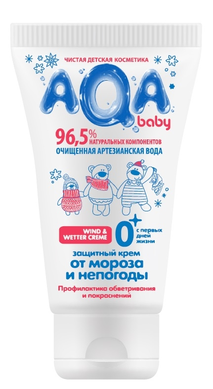 Кремы AQA baby 02012104 aqa baby защитный крем 02012104 50 мл от мороза и непогоды