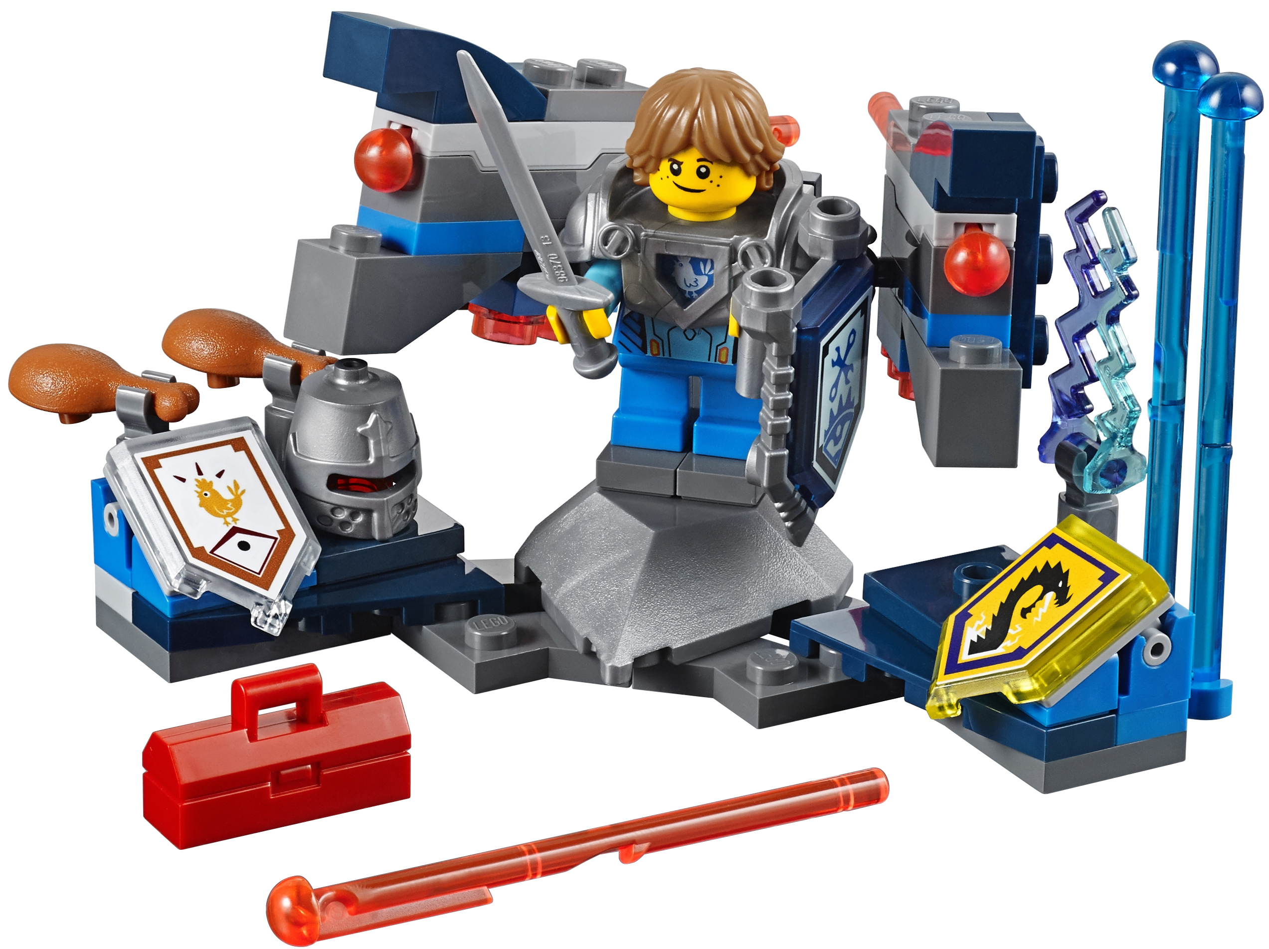 Конструктор LEGO Nexo Knights 70333 Робин Абсолютная сила 1 set original genuine germany mec 4 5 strings vampyre active bass pickup m60201s