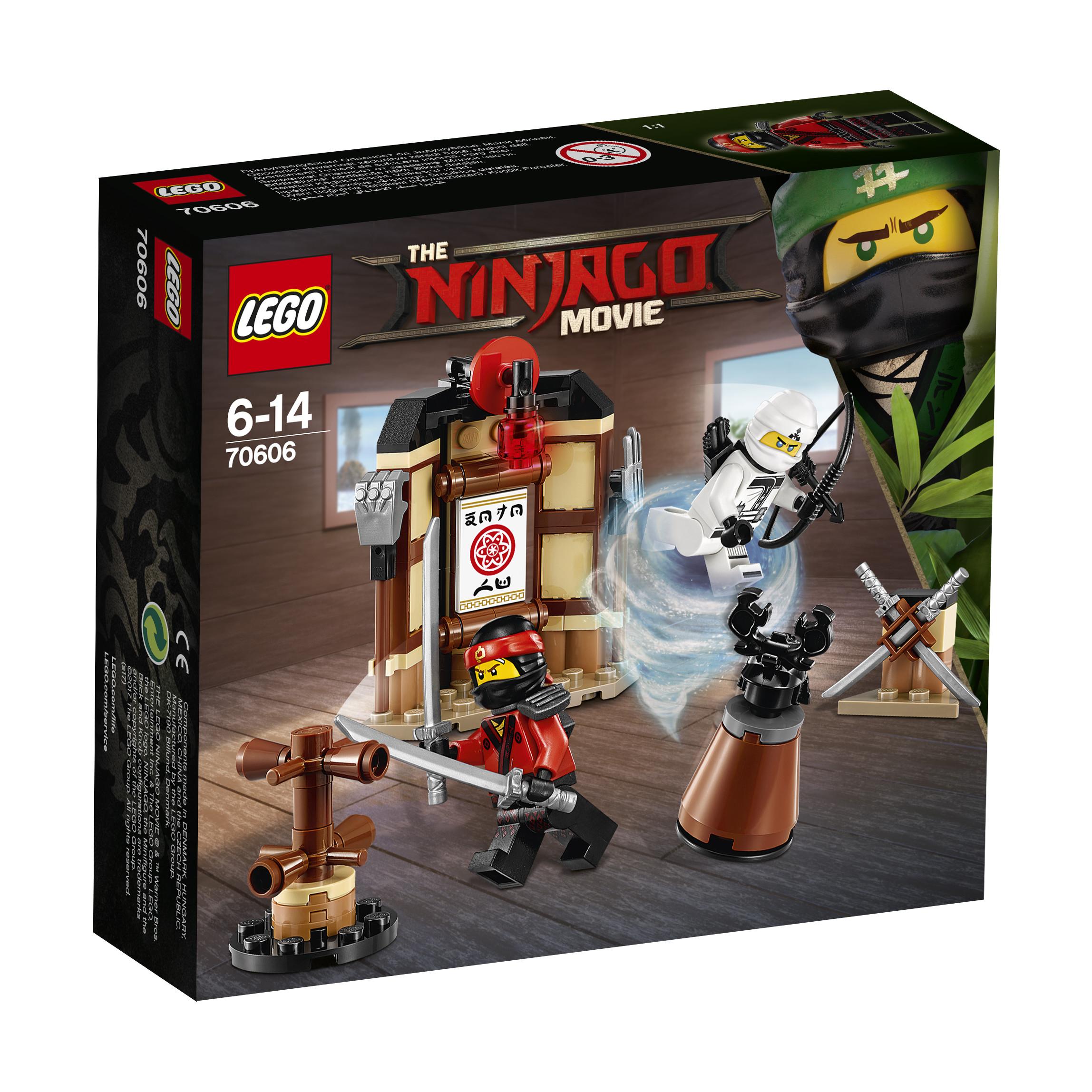 LEGO LEGO Конструктор LEGO Ninjago 70606 Уроки Мастерства Кружитцу бра chiaro лоренцо 621020402