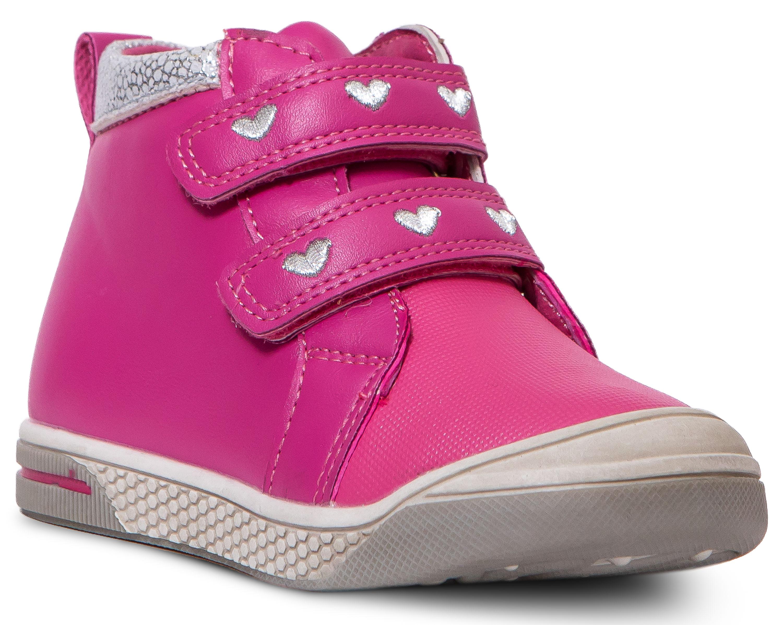 Ботинки и полуботинки Barkito Ботинки для девочки Barkito, фуксия ботинки bellamica bellamica be058awxkb45