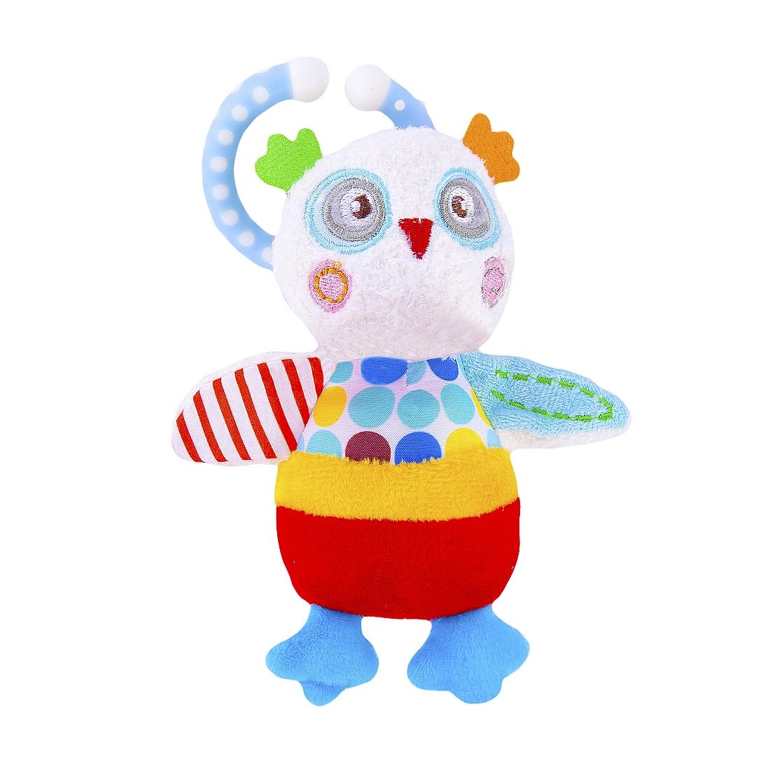 Подвеска Наша игрушка Совёнок Бонни с вибрацией жирафики подвеска погремушка лисенок с вибрацией